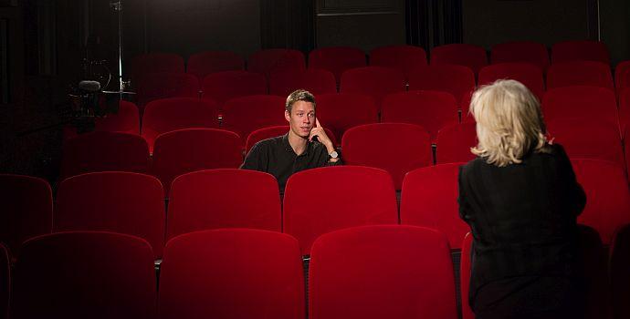 Halfdan Ulmann Tondel spricht mit Margarethe von Trotta (Auf der Suche nach Ingmar Bergman, 2018)