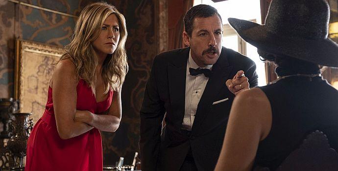 "Jennifer Aniston & Adam Sandler in ""Murder Mystery"" (2019)"