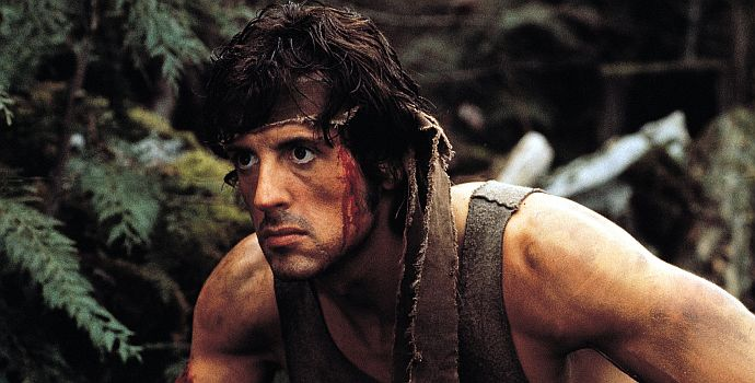 """Sylvester Stallone ist """"Rambo"""" (First Blood, 1982)"""