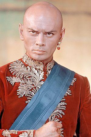 """Yul Brynner als König von Siam in """"Der König und ich"""""""