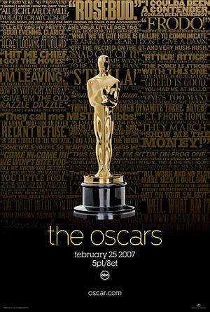 Oscarplakat 2007