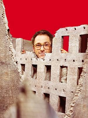 """Dani Levy in den Kulissen von """"Mein Führer"""""""