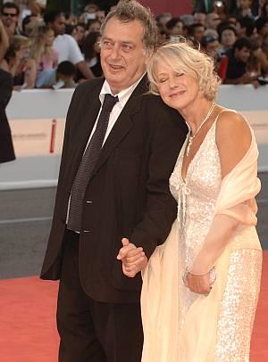 Helen Mirren mit Regisseur Stephen Frears in Venedig