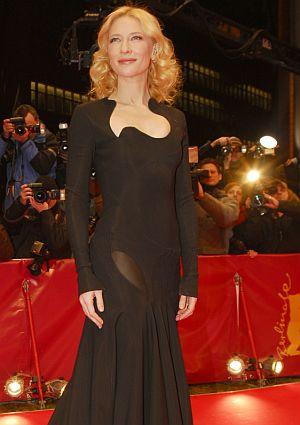 Cate Blanchett präsentiert sich dem Festivalpublikum