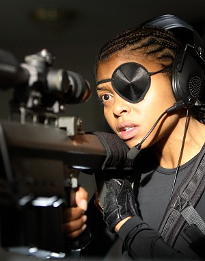 "Taraji Henson in ""Smokin' Aces"""