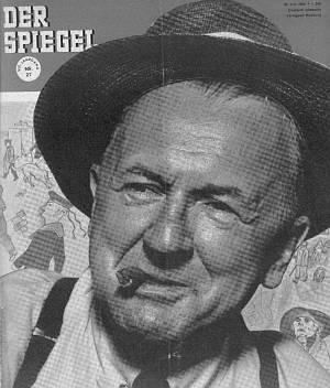 Das Cover des Spiegel vom 30. Juni 1954