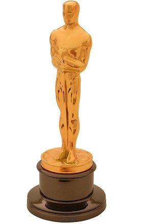 Die goldene Oscarstatuete aus dem Jahr 2004