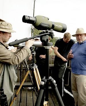 Die Arbeit am Set mit Regisseur Rainer Kaufmann.