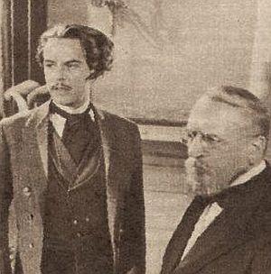 O.W. Fischer und Robert Meyn