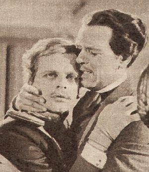 O.W. Fischer und Klaus Kinski