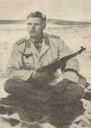 "Hardy Krüger in ""Taxi nach Tobruk"""