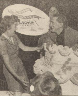Anne und Kirk Douglas