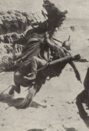 James Mason fällt vom Pferd