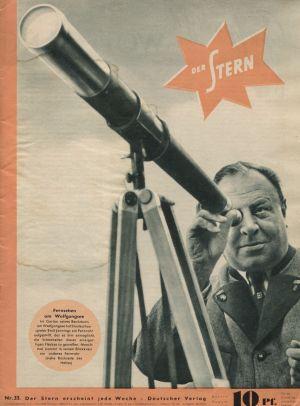 Der Stern, August 1939, Nr. 33, Cover