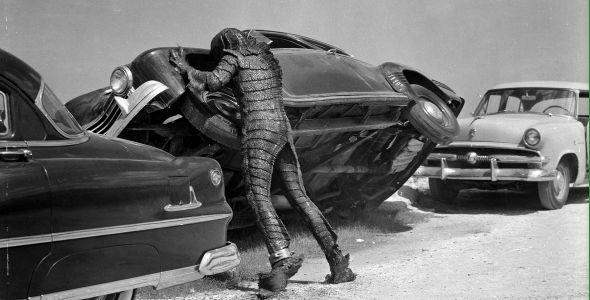 Die Rache des Ungeheuers (quer) 1955