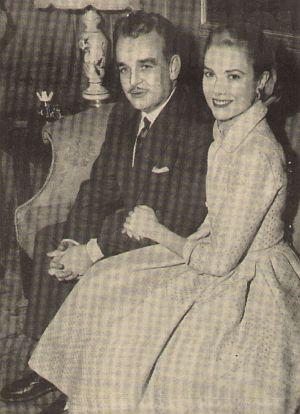 Gracia Patricia und Fürst Rainier