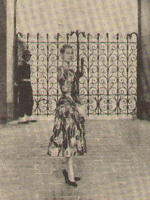 Grace Kelly präsentiert ihren neuen Palast