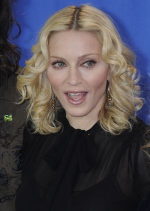In Berlin with Madonna