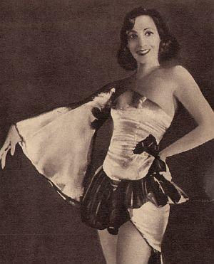 Zarah Leander als Revuestar