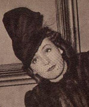 Zarah Leander um 1940