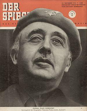 Cover des Spiegels am 15. Oktober 1952