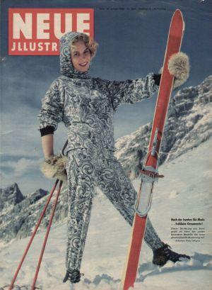 """Cover der Zeitschrift """"Neue Illustrierte"""" am 28. Januar 1956"""
