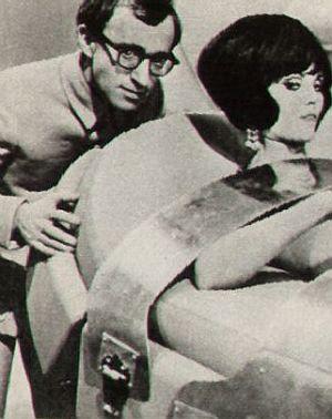 "Woody Allen in der Persiflage ""Casino Royale"""