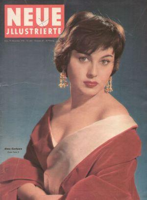 Das Cover der <I>Neuen Illustrierten</I> am 19.11.1955