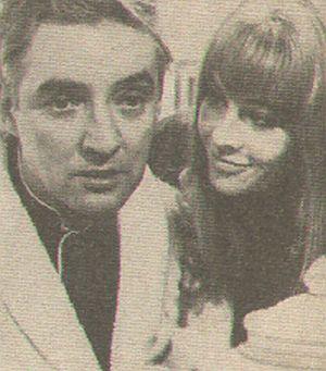Oskar Werner und Julie Christie