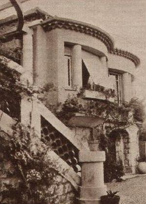Lilian Harveys Domizil an der Côte d'Azur