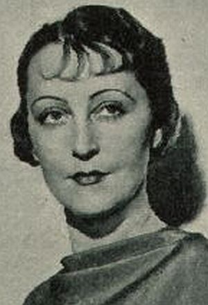 Elga Brink als schöne Sängerin