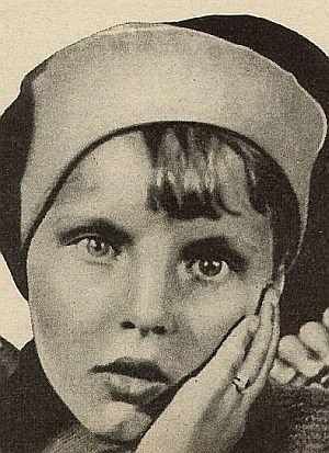 Inge Landgut in jungen Jahren