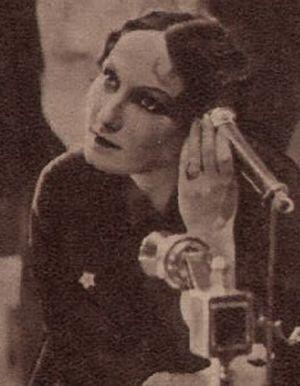 Brigitte Horny in ihrer ersten Rolle am Mainfranken Theater in Würzburg