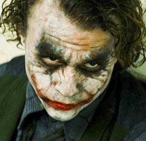"Heath Ledger in ""The Dark Knight"""