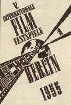 Plakat der Berlinale 1955