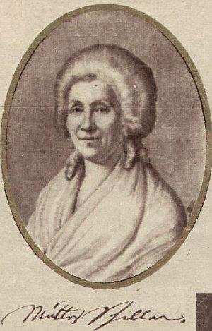 Friedrich Schillers Mutter Elisabeth geb. Kodweis