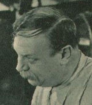 """Emil Jannings in """"Der schwarze Walfisch"""""""