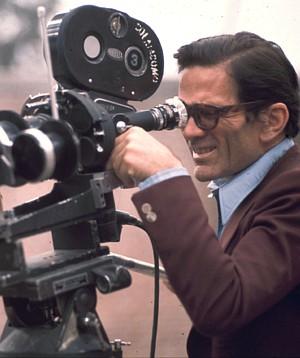 Pier Paolo Pasolini an der Kamera