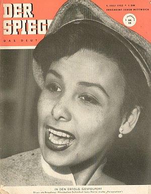 """Das Cover des """"Spiegels"""" im Juli 1952"""