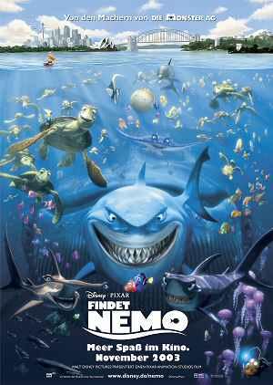 Filmplakat zu Findet Nemo