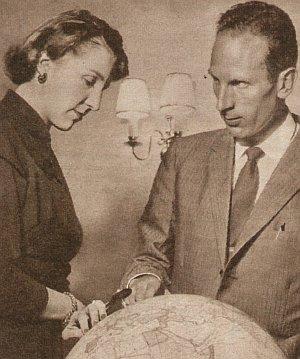Peter Schöck und seine Frau