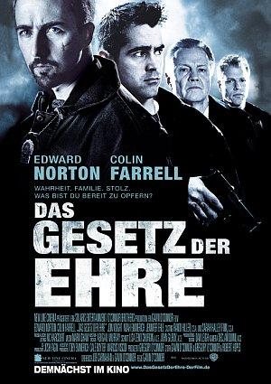 Filmplakat zu Das Gesetz der Ehre