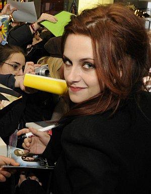 Kristen Stewart mit ihren Fans