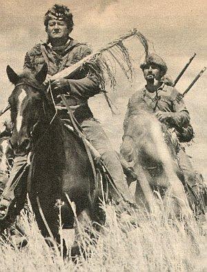 "John Wayne in ""Alamo"""