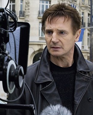 """Liam Neeson am Set von """"96 Hours"""""""