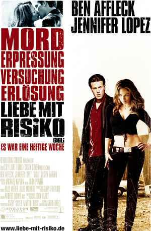 Liebe mit Risiko − Gigli (Kino)