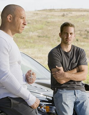 Vin Diesel und Paul Walker mögen PS-Boliden