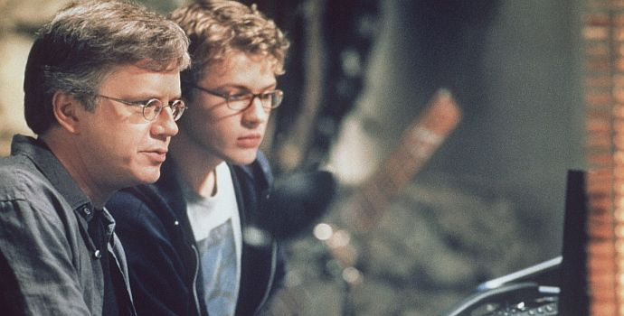 "Tim Robbins & Ryan Pilippe in ""Startup - Trau nur dir selbst"" (Anti Trust, 2000)"