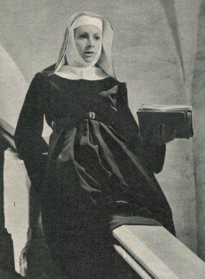 """Ruth Leuwerik als Nonne in """"Die Trapp-Familie"""""""