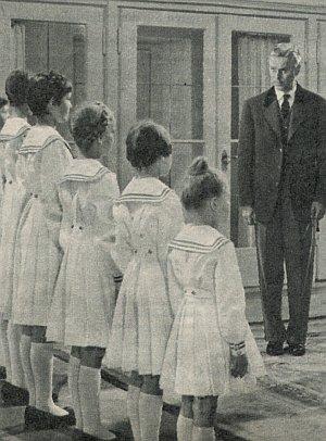 Hans Holt als Baron Trapp